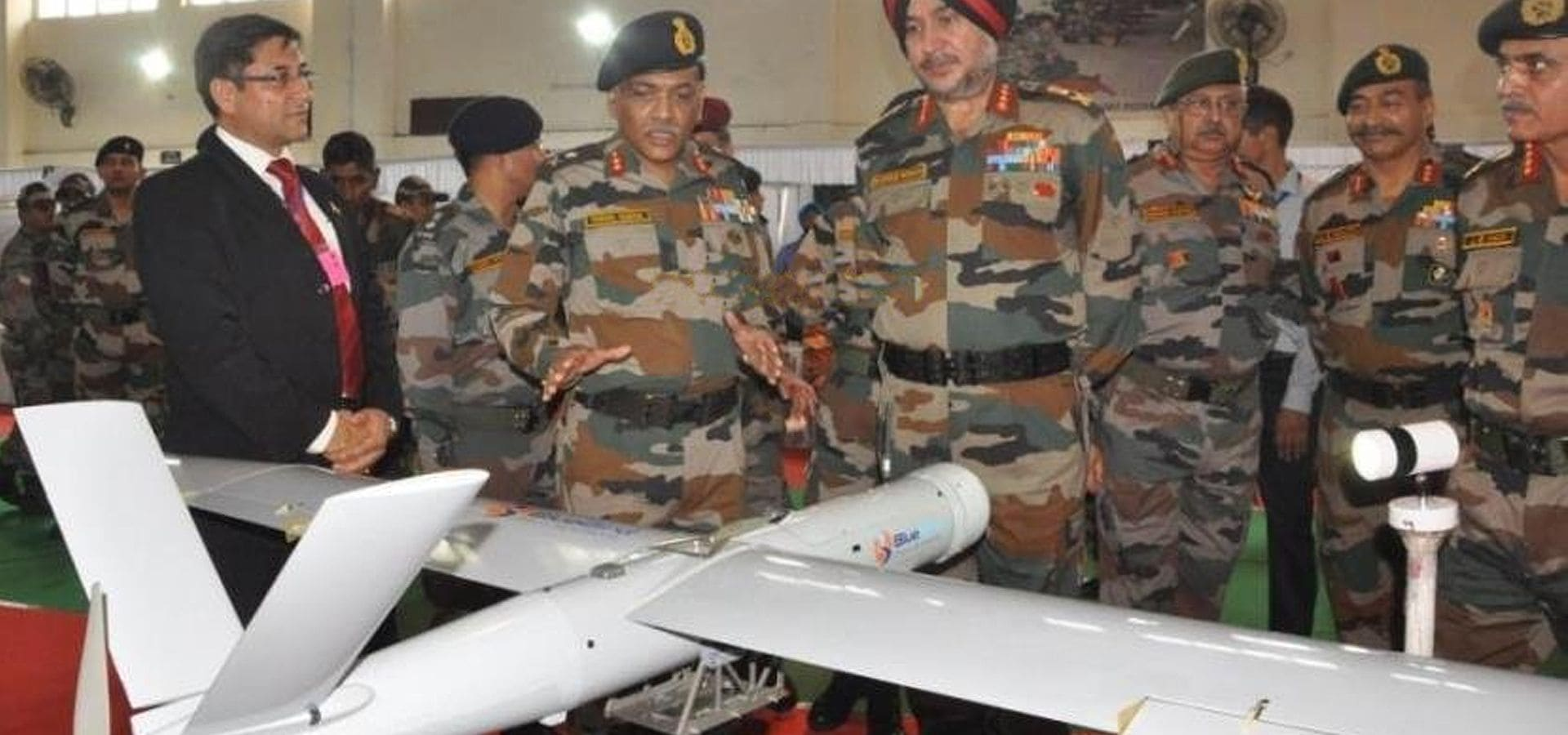 Our UAVs at Indian Army's North Command North-Tech Event